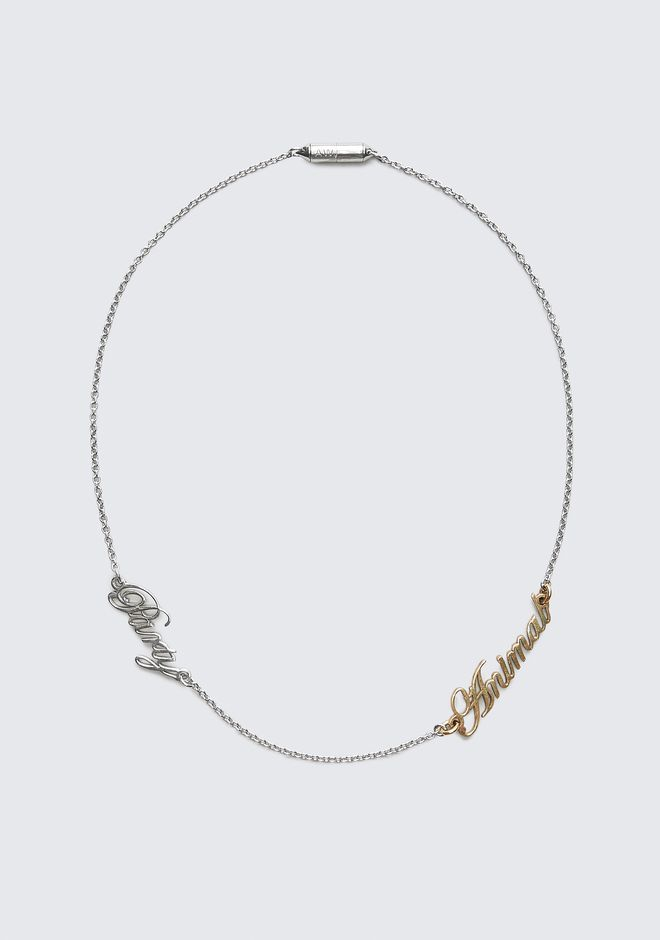 ALEXANDER WANG jewelry PARTY ANIMAL NECKLACE