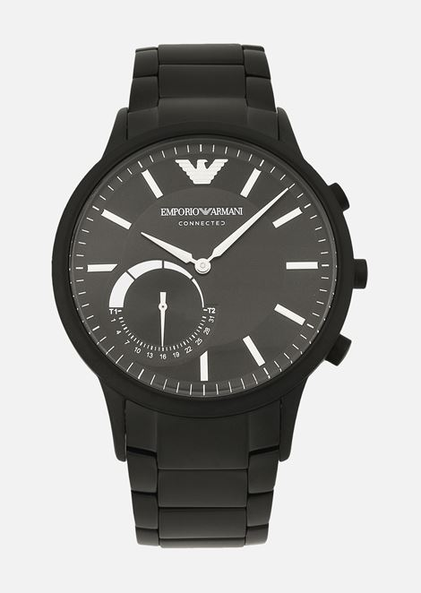 9ead1670085 Emporio armani man stainless steel hybrid smartwatch