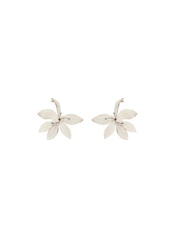 Marni Screw-back flower earrings Woman