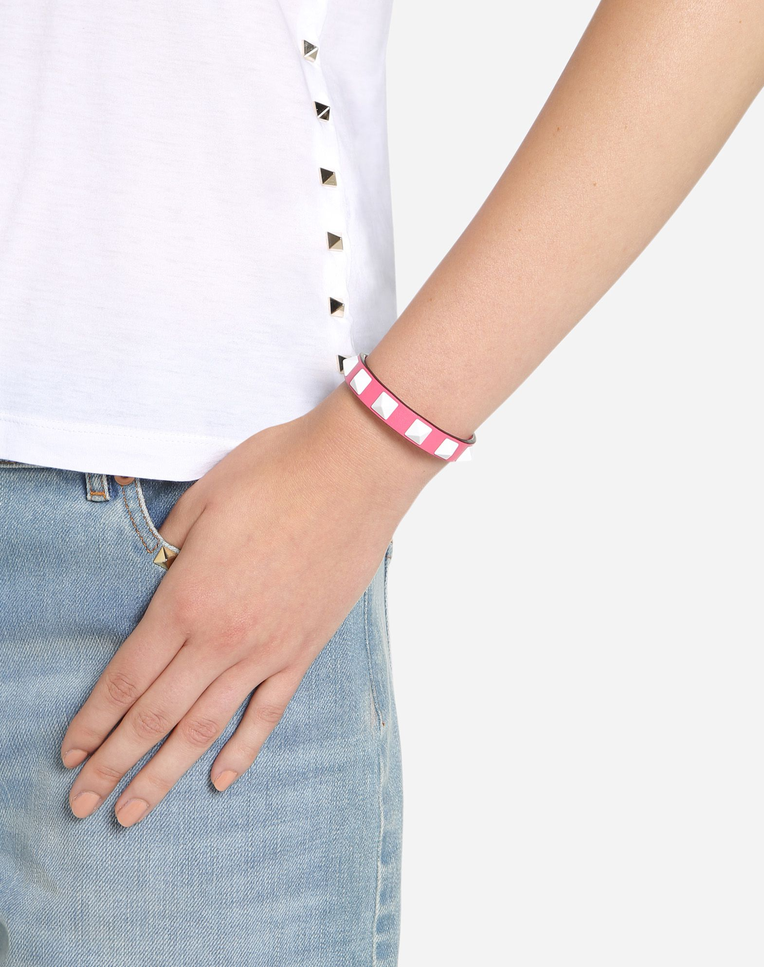 Valentino Garavani Rockstud turquoise bracelet Valentino 3jVzPZ9K