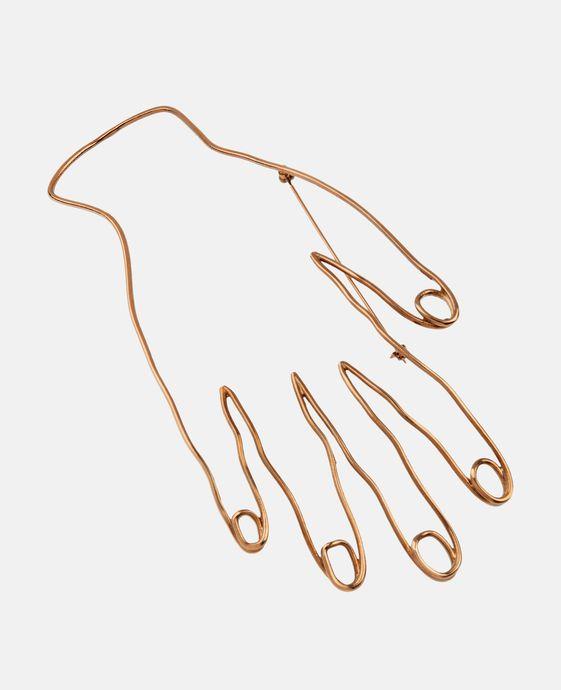 Hand Motif Brooch