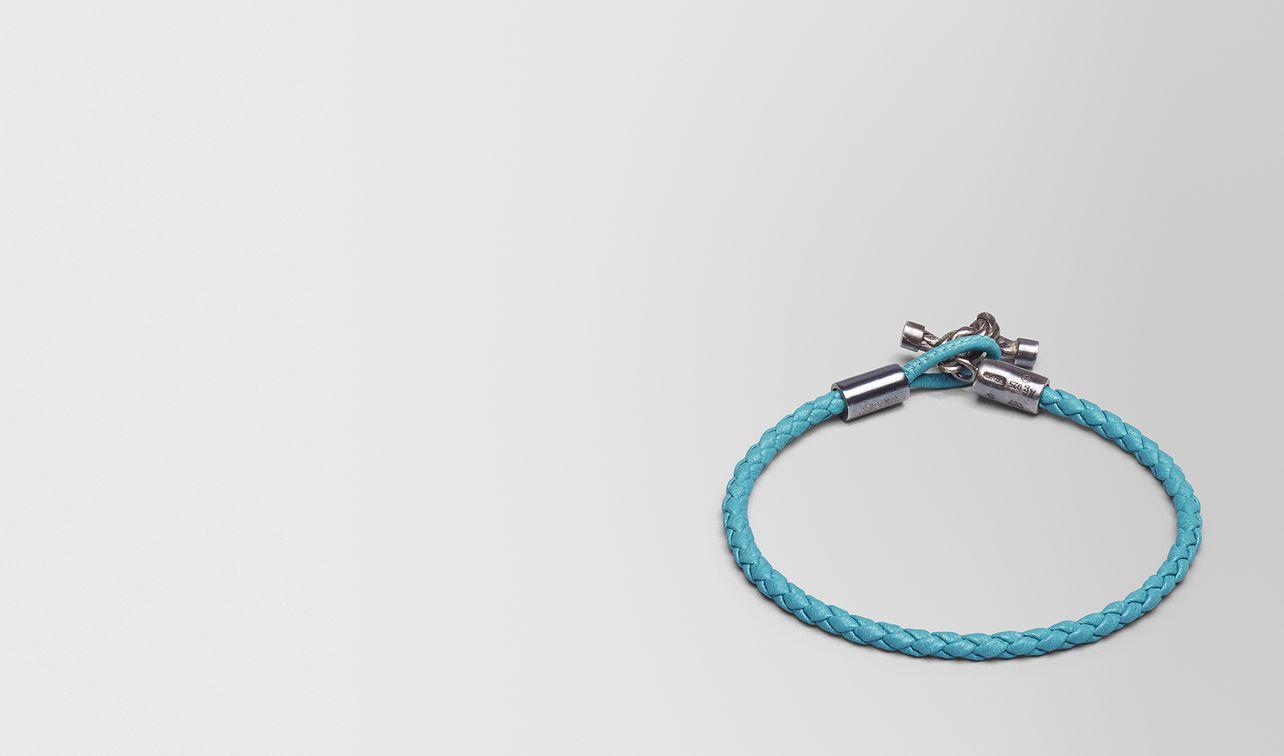 aqua intrecciato nappa bracelet landing