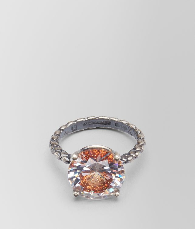BOTTEGA VENETA RING IN ZIRCONIA AND ENAMEL Ring [*** pickupInStoreShipping_info ***] fp