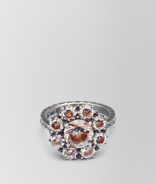 BOTTEGA VENETA RING ZIRCONIA AND ENAMEL Ring [*** pickupInStoreShipping_info ***] fp