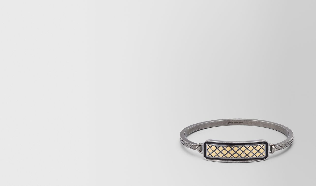 oxidized silver nero matte enamel bracelet landing