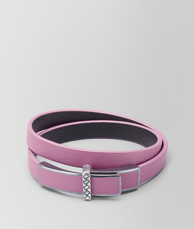 BOTTEGA VENETA ARGENTO ENAMEL COBALT BLUE KARUNG BRACELET Bracelet [*** pickupInStoreShipping_info ***] fp