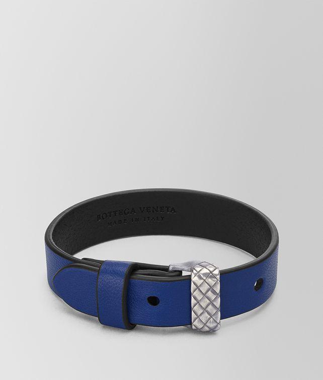 BOTTEGA VENETA COBALT BLUE NAPPA BRACELET Bracelet [*** pickupInStoreShippingNotGuaranteed_info ***] fp
