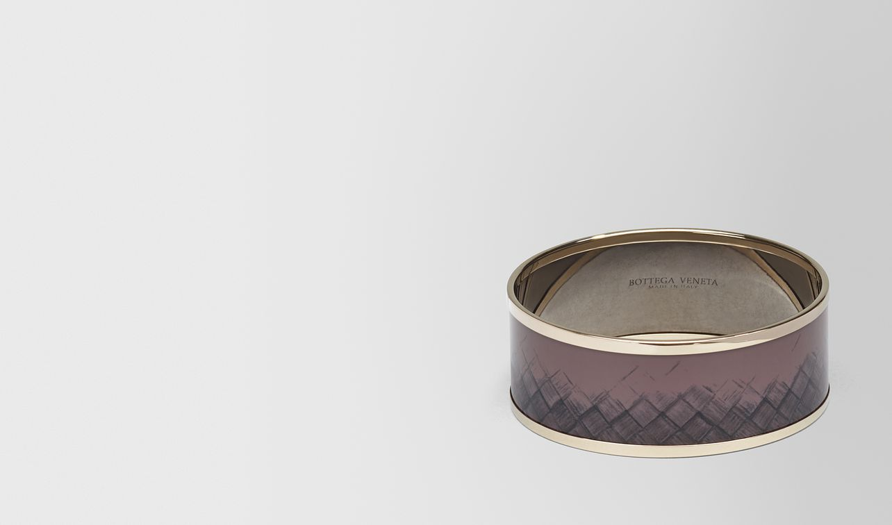 bracelet in glicine metal and enamel, yellow gold plated landing