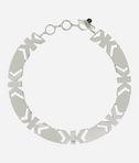 KARL LAGERFELD Art Deco K Collar Necklace 8_d