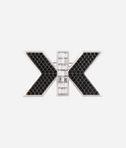 KARL LAGERFELD Art Deco Double K Pin 8_f