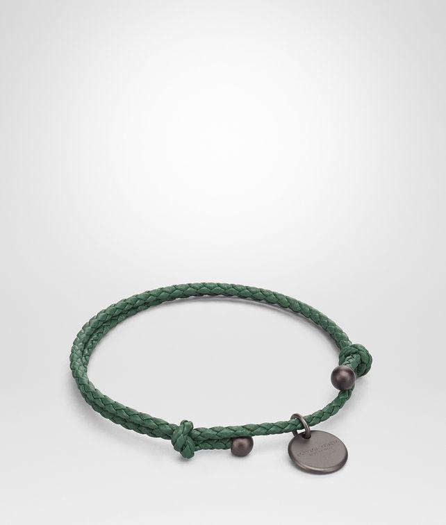 BOTTEGA VENETA THYME INTRECCIATO NAPPA BRACELET Keyring or Bracelets E fp