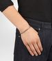 BOTTEGA VENETA OXIDIZED SILVER GARNET BRACELET Bracelet Man ap