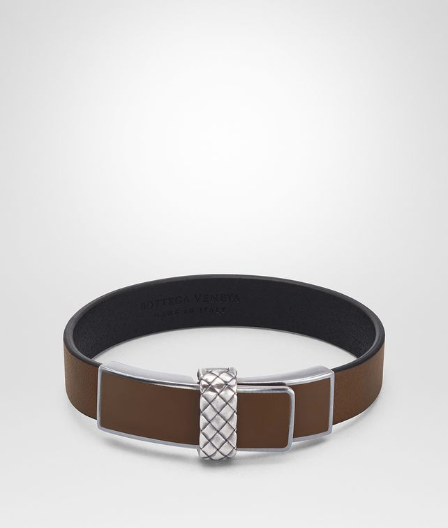 BOTTEGA VENETA DARK CALVADOS NAPPA BRACELET Bracelet [*** pickupInStoreShippingNotGuaranteed_info ***] fp