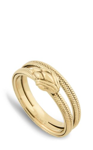 JUST CAVALLI Ring Woman Dual-band snake ring f