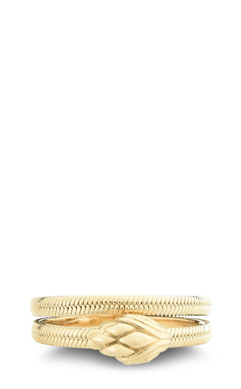JUST CAVALLI Dual-band snake ring Ring Woman e