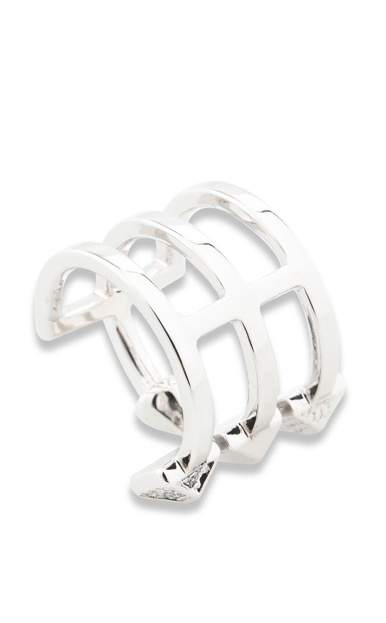 JUST CAVALLI ROCK-theme steel ring Ring Woman d