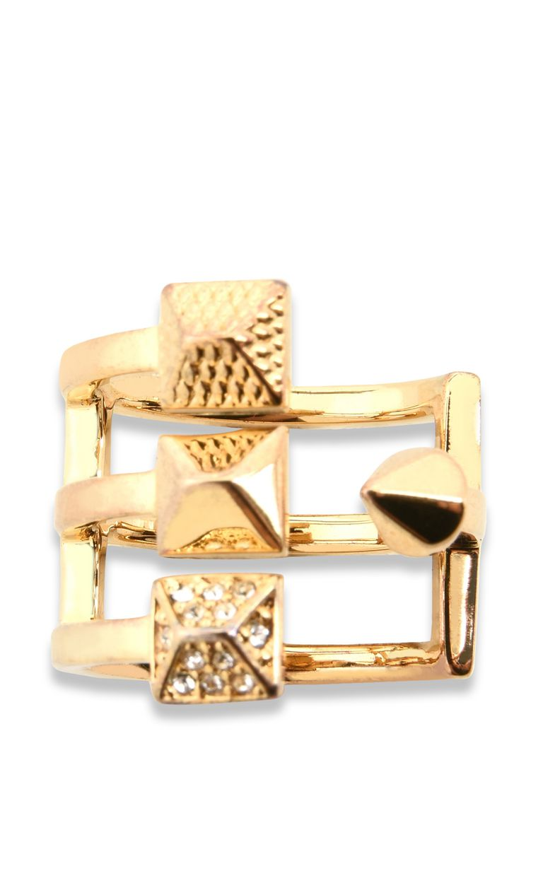 JUST CAVALLI ROCK-theme steel ring Ring Woman r