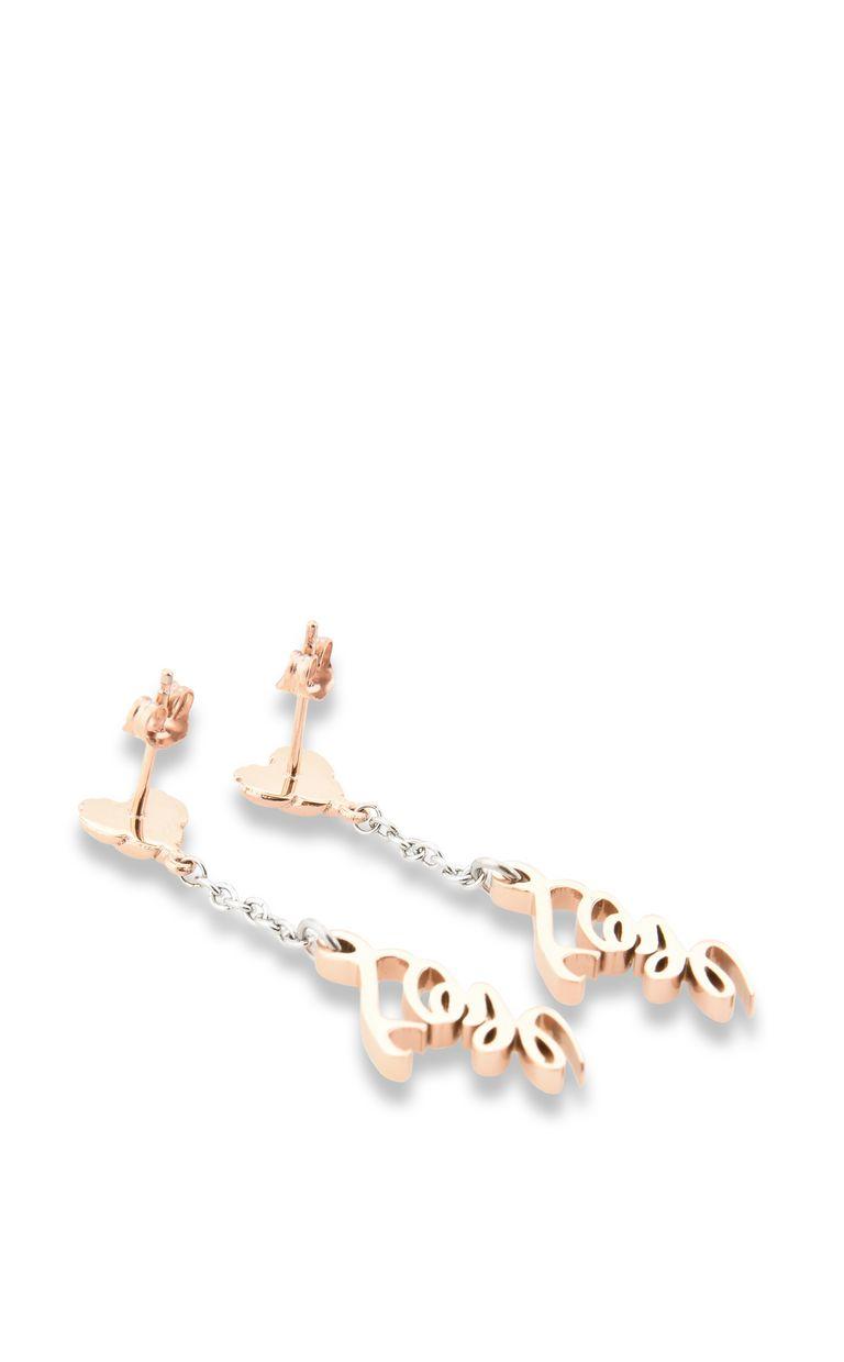 "JUST CAVALLI Dangling ANIMAL ""Love"" earrings Earrings Woman r"