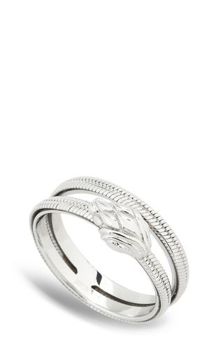 JUST CAVALLI Ring [*** pickupInStoreShipping_info ***] Dual-band snake ring f