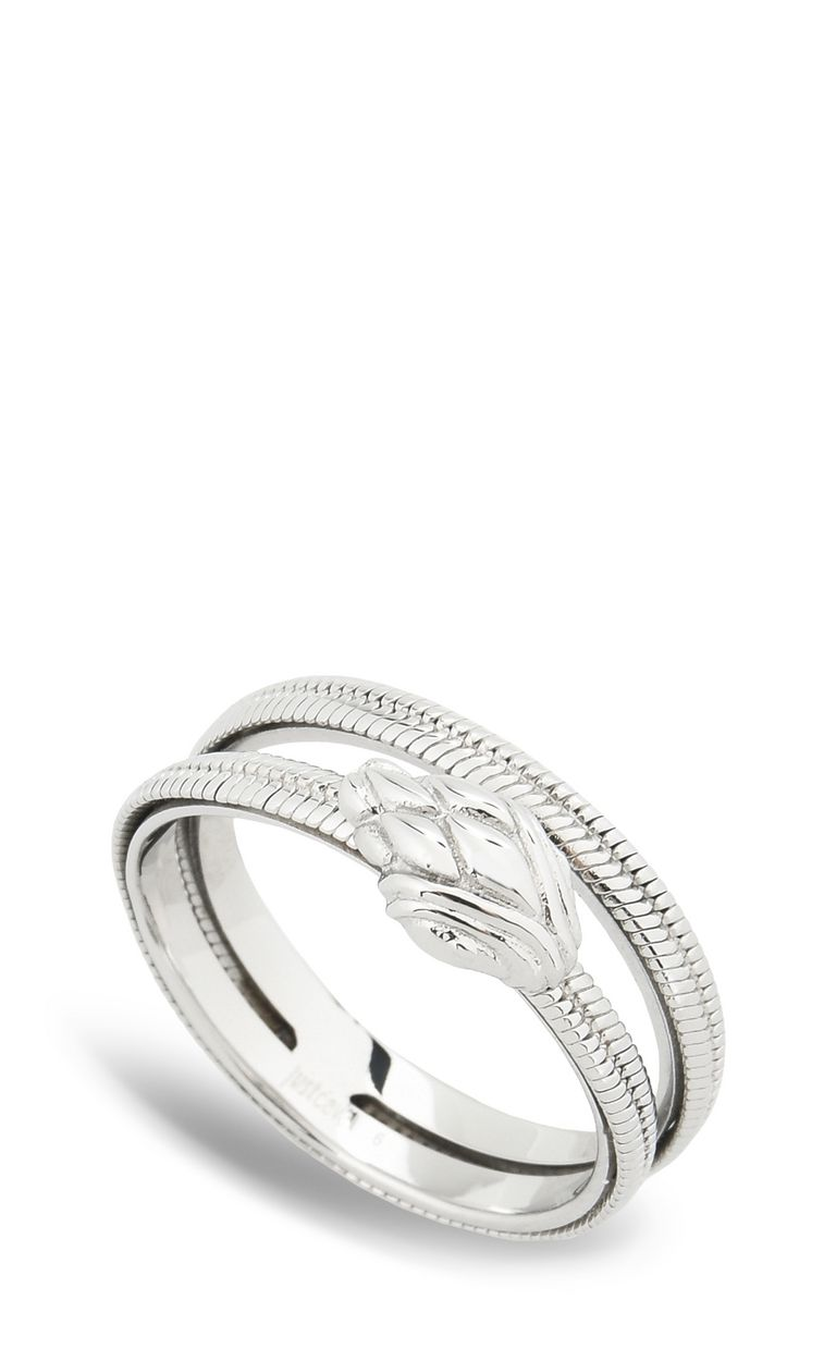 JUST CAVALLI Dual-band snake ring Ring Woman f