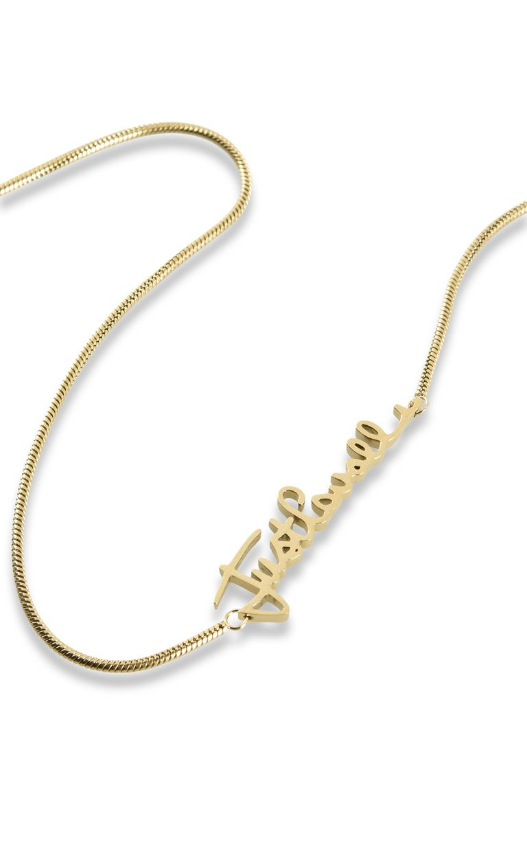 JUST CAVALLI LOGO-theme chain necklace Necklace Woman d