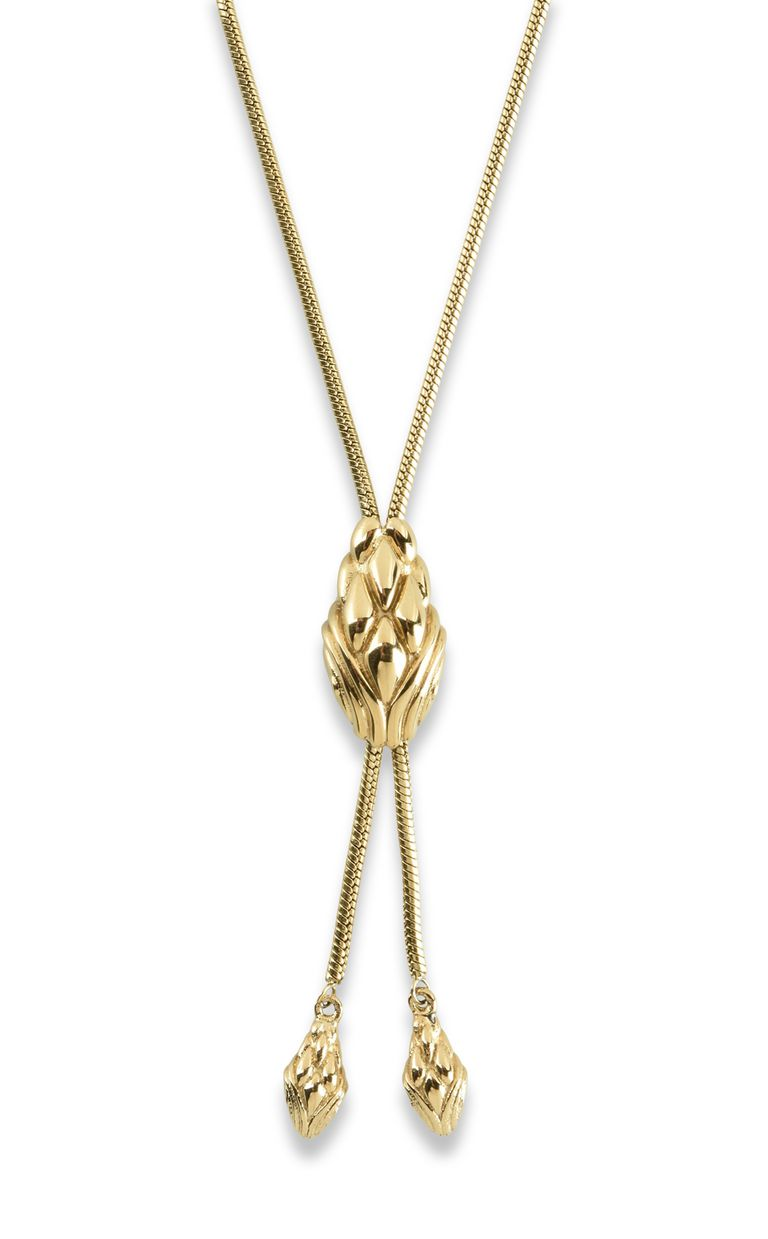 JUST CAVALLI LOGO-theme chain necklace Necklace Woman e