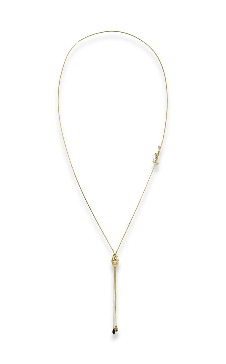 JUST CAVALLI LOGO-theme chain necklace Necklace Woman f