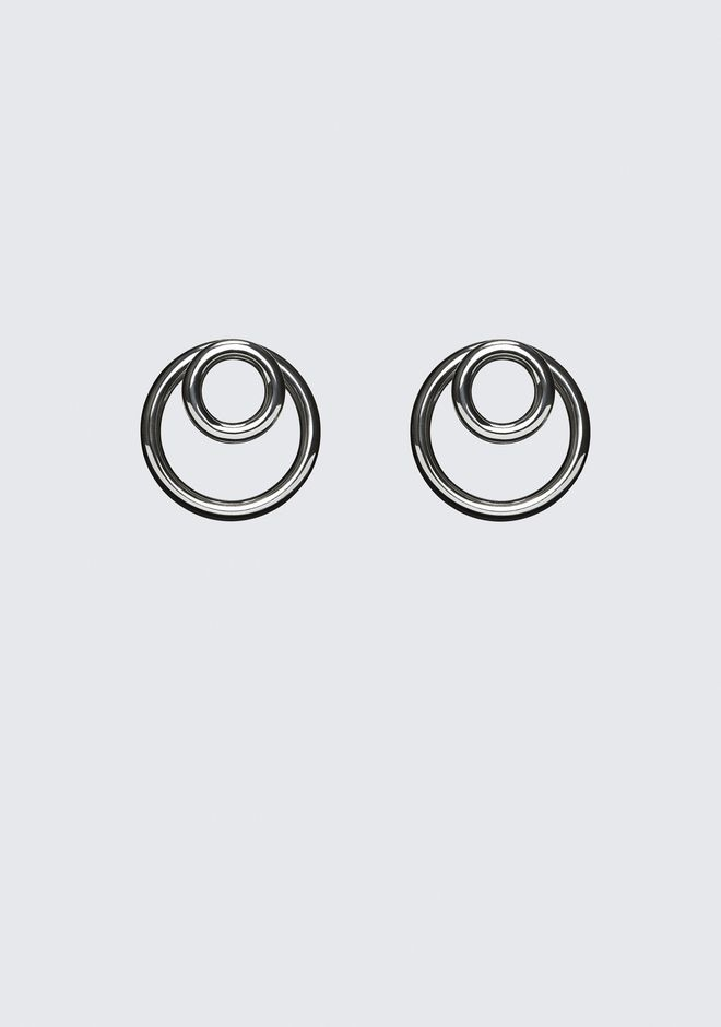 ALEXANDER WANG jewelry DOUBLE O-RING EARRINGS