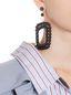 Marni Screw earrings in resin Woman - 2