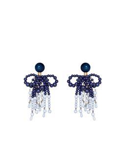 Marni Clip-on earrings in resin blue Woman
