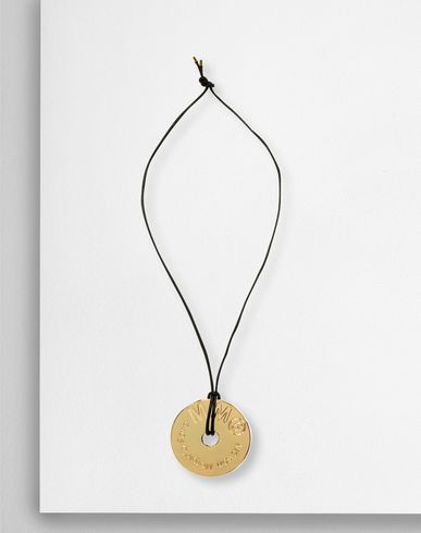 MM6 MAISON MARGIELA Necklace Woman MM6 medallion necklace f