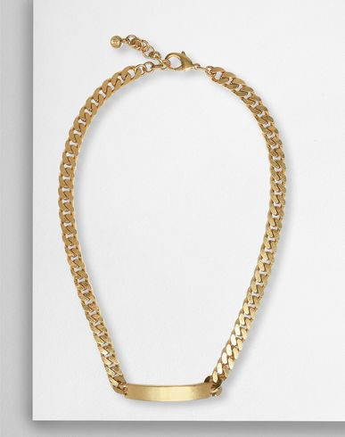 MM6 MAISON MARGIELA Necklace D Chain ID necklace f