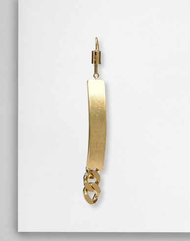 MM6 MAISON MARGIELA Earrings D Chain ID earrings f