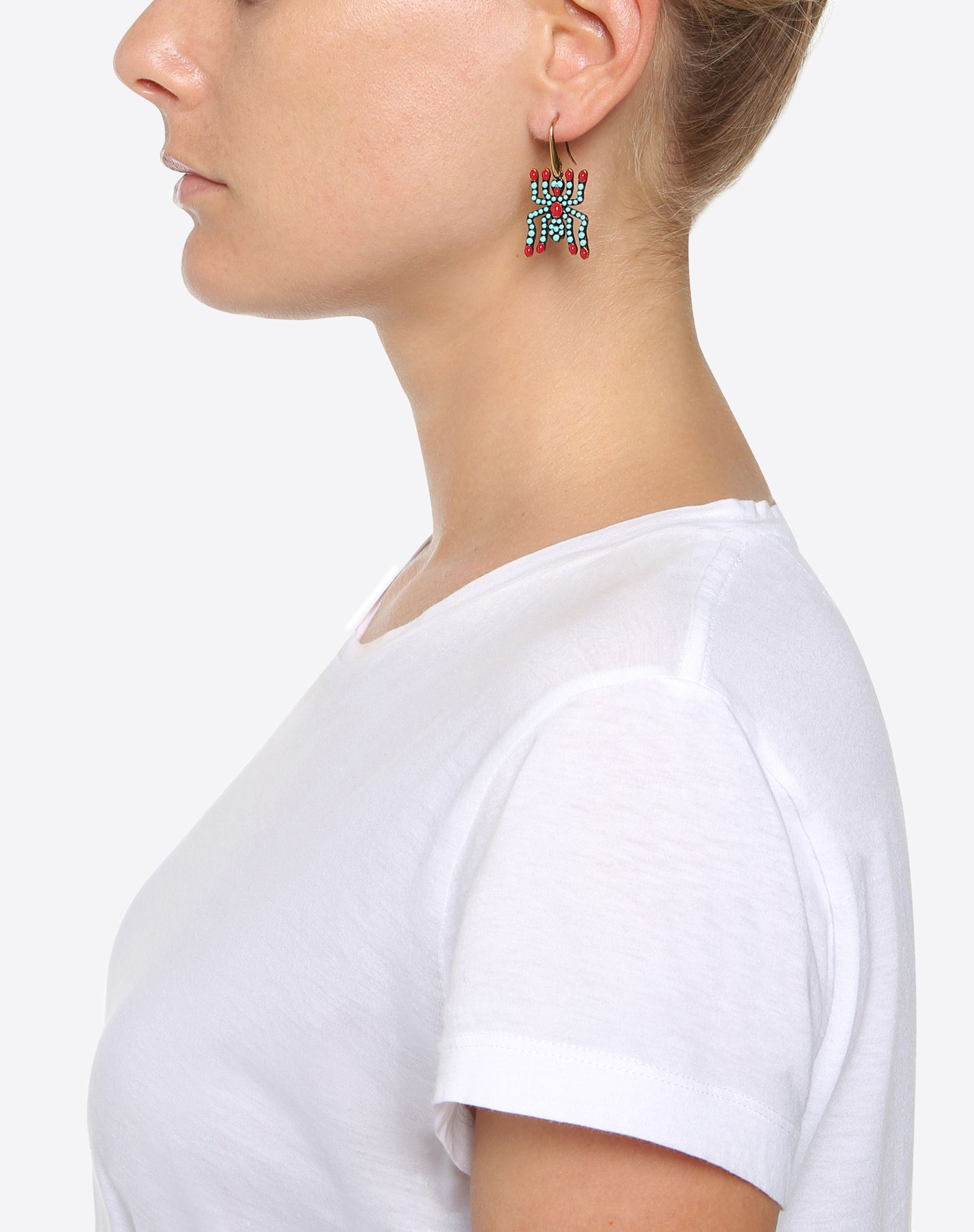 VALENTINO GARAVANI Spider Earrings Earrings D a