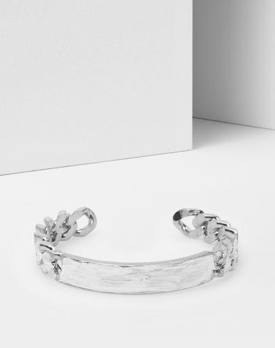 MM6 MAISON MARGIELA Bracelet D Bracelet avec chaîne et gourmette f