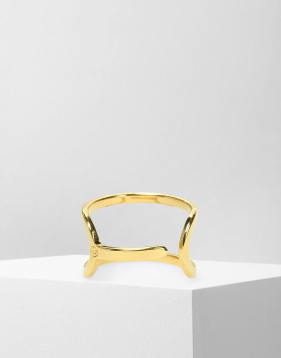 MM6 MAISON MARGIELA SIM card opener ring Ring Woman r