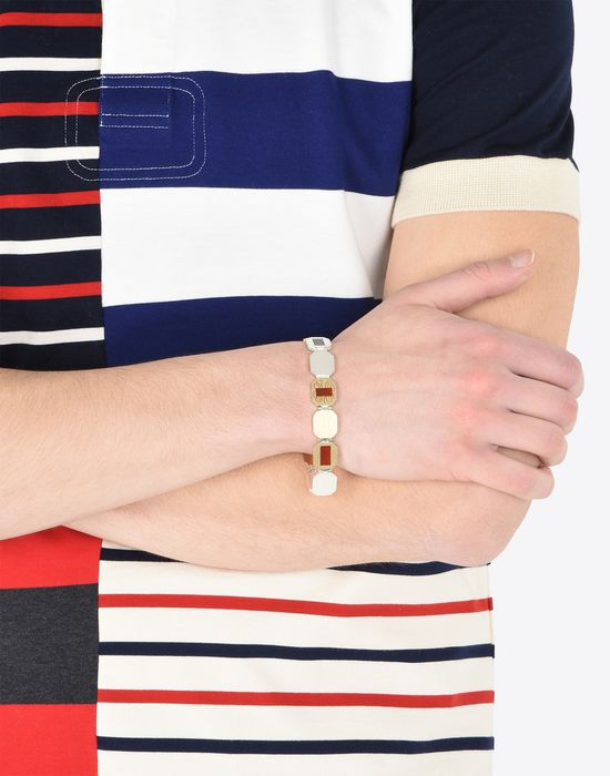 MAISON MARGIELA Linked silver bracelet Bracelet Man b