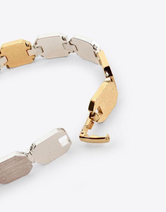 MAISON MARGIELA Linked silver bracelet Bracelet Man r