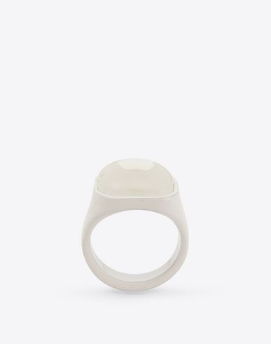 MAISON MARGIELA Ring U Monochrome signet ring f