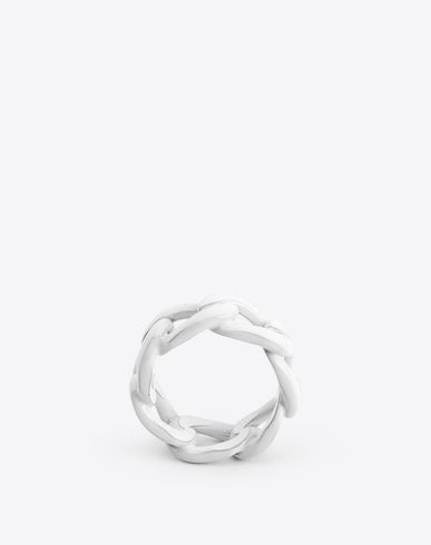 MAISON MARGIELA Ring U Painted chain ring f