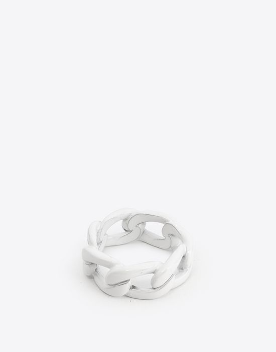 MAISON MARGIELA Painted chain ring Ring Man r