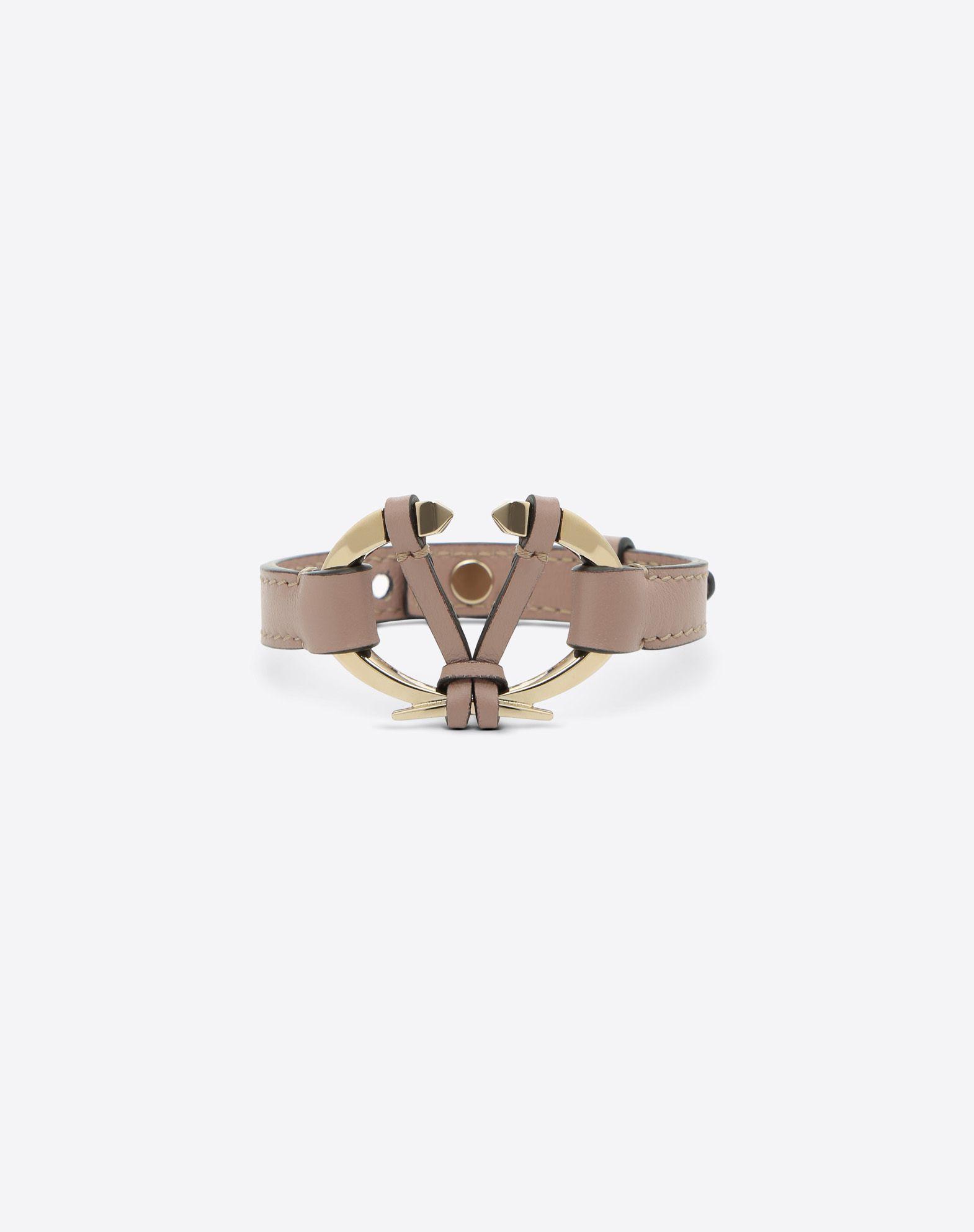 VALENTINO Logo application Strap material: leather  50205340bu