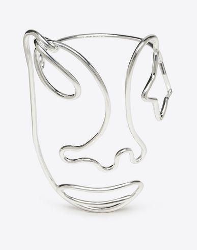 MAISON MARGIELA Bracelet D Brass wire face bracelet f