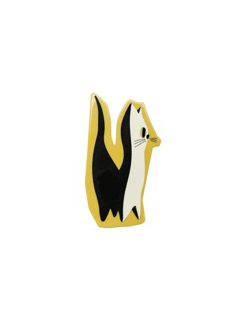 Marni CAT BROOCHE IN SYNTHETIC RESIN Woman