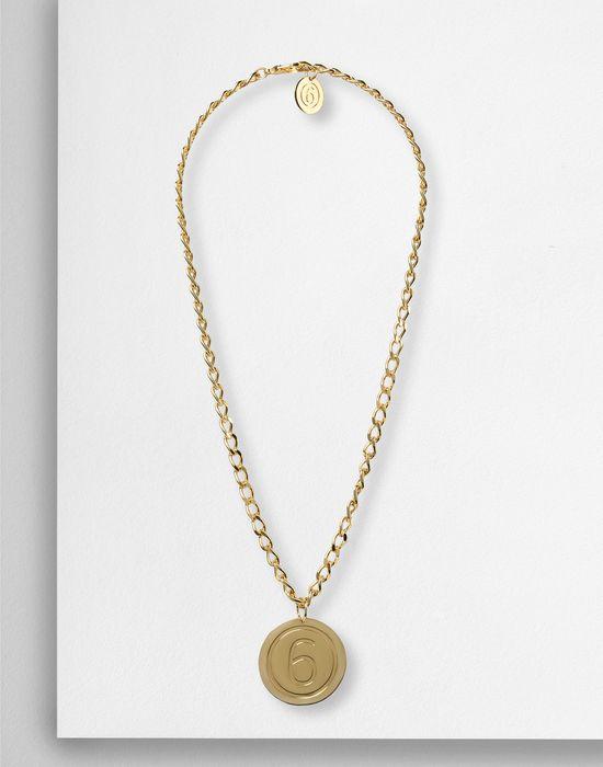 the best attitude 5b689 7a5ea Maison Margiela 6' Medallion Necklace Women ...