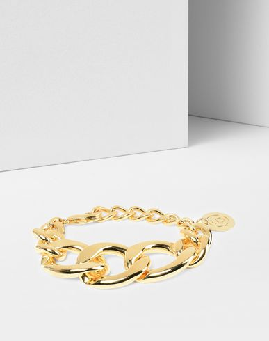 MM6 MAISON MARGIELA Bracelet Woman 6' medallion chain bracelet f