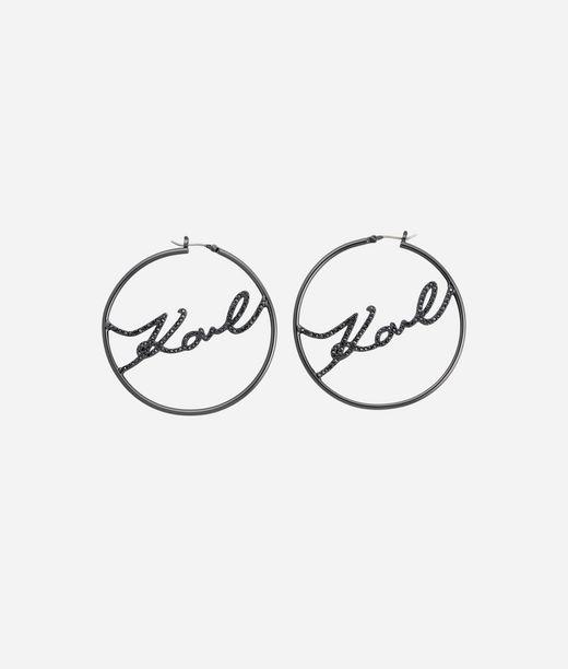 KARL LAGERFELD Earring Karl Hoop 12_f