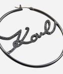 KARL LAGERFELD Earring Karl Hoop 8_d
