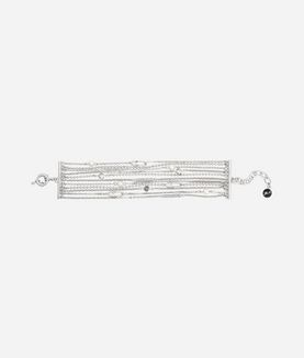 KARL LAGERFELD BRACELET SAFETY PIN & PEARL