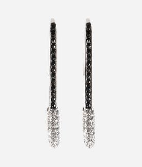 KARL LAGERFELD EARRINGS SAFETY PIN